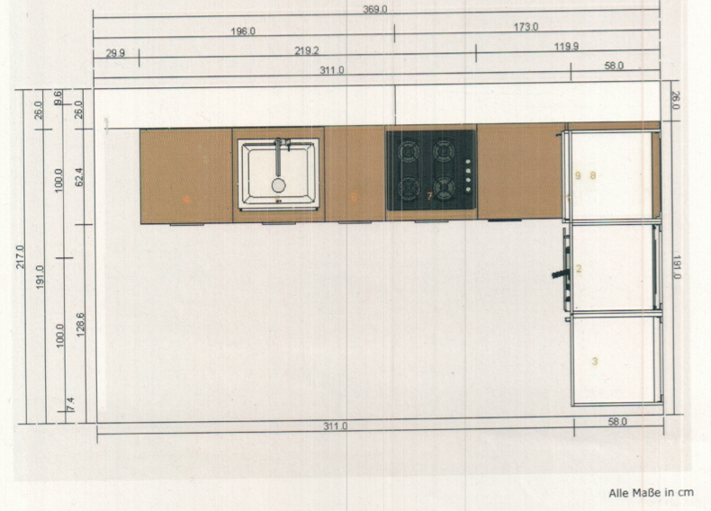 Ikea kuche ecke passleiste for Planungssoftware kuche